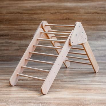 Triunghi de catarare Pikler cu rampa reversibila
